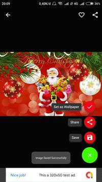 Christmas Wallpaper 2019 HD screenshot 3