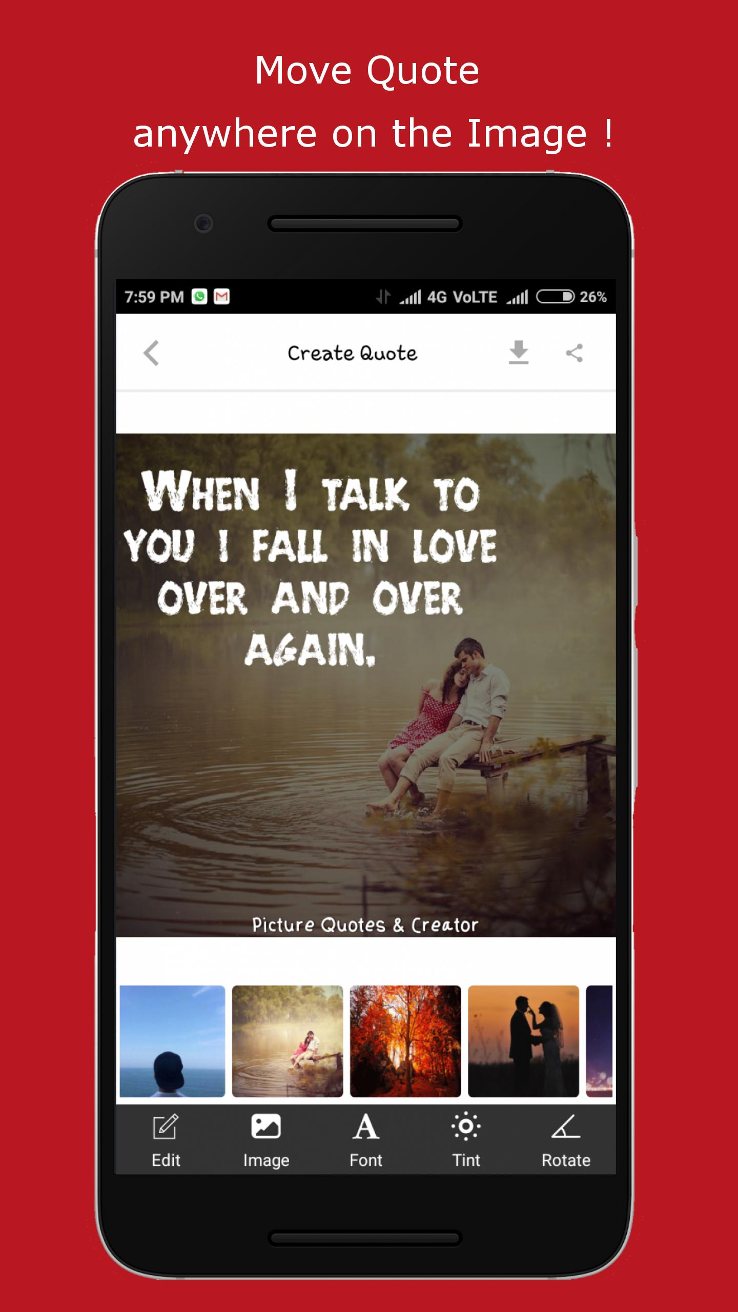 Picture Quotes And Creator For Android Apk Download