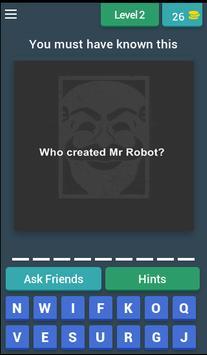 Mr Robot Quiz screenshot 2