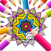 Mandala Book of Coloring icon