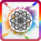 Mandalas Coloring Pages - Mandala Molouring Book icon