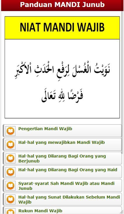 Panduan Lengkap Mandi Wajib Junub Sesuai Sunnah For Android Apk Download