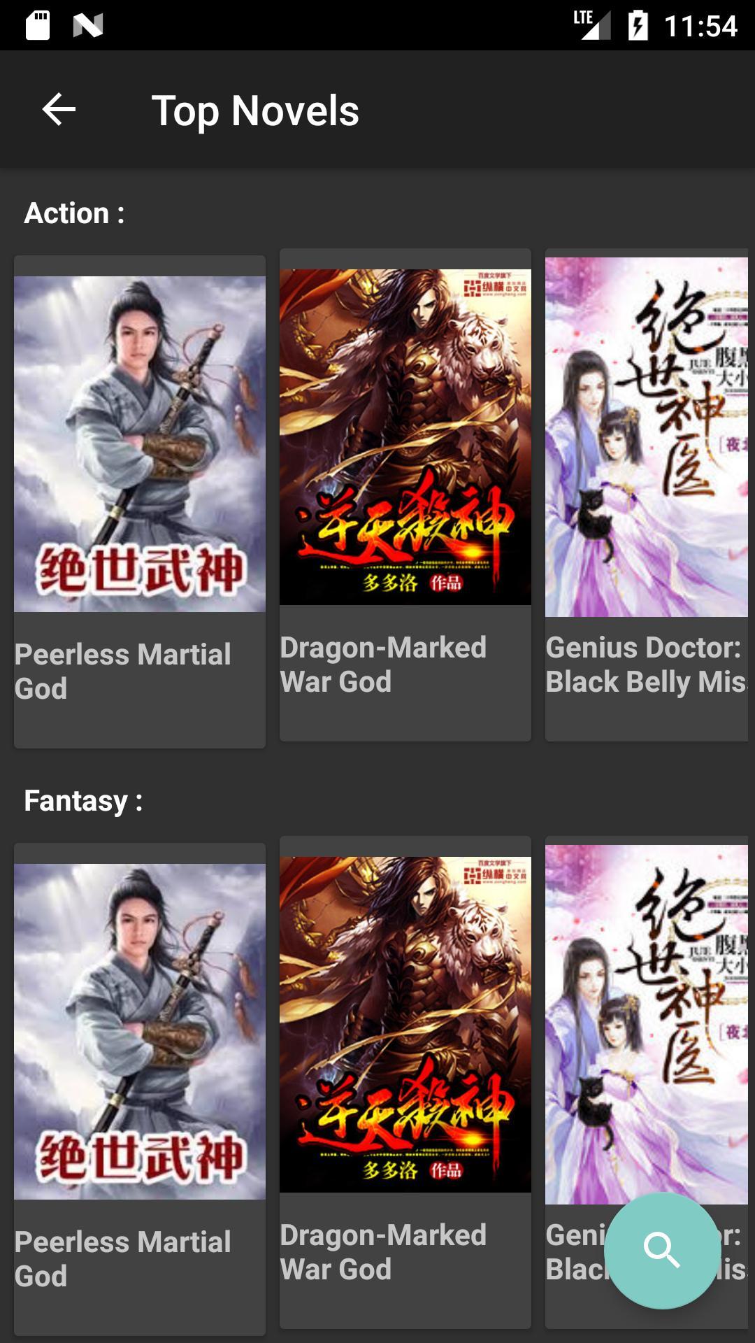 Mandrasoft Light-Novel reader for Android - APK Download