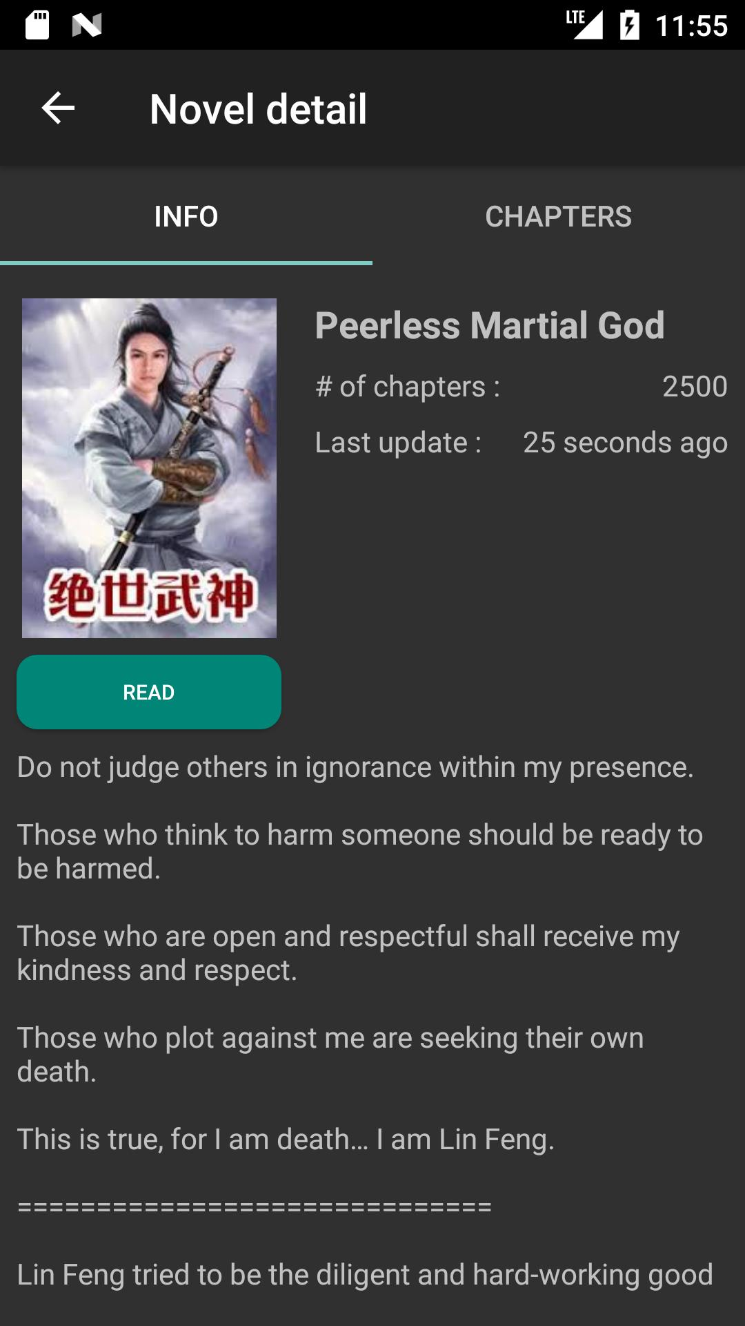Mandrasoft Light-Novel reader for Android - APK Download