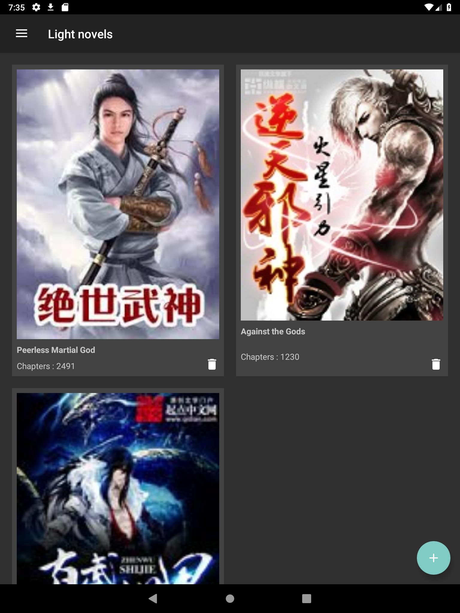 Mandrasoft Manga//Light-novel Reader for Android - APK Download