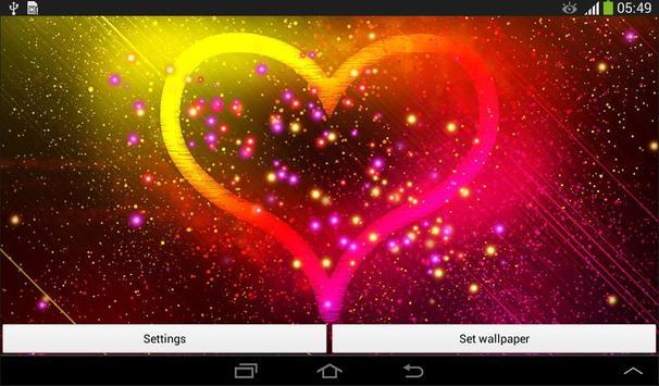 Heart Live Wallpaper screenshot 8