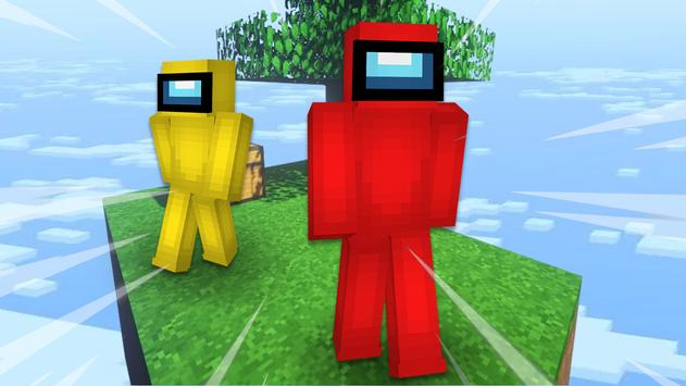 Imposter Sky Battles for MCPE captura de pantalla 1