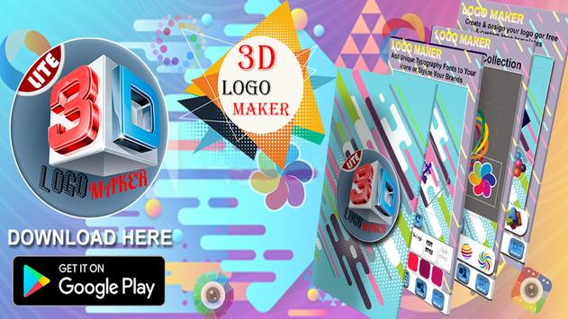 Corporate logo maker app - 3D Logo Maker 2019 screenshot 6