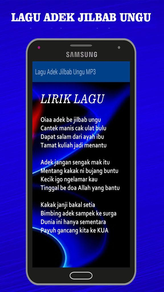 Download lagu oy adek berjilbab biru