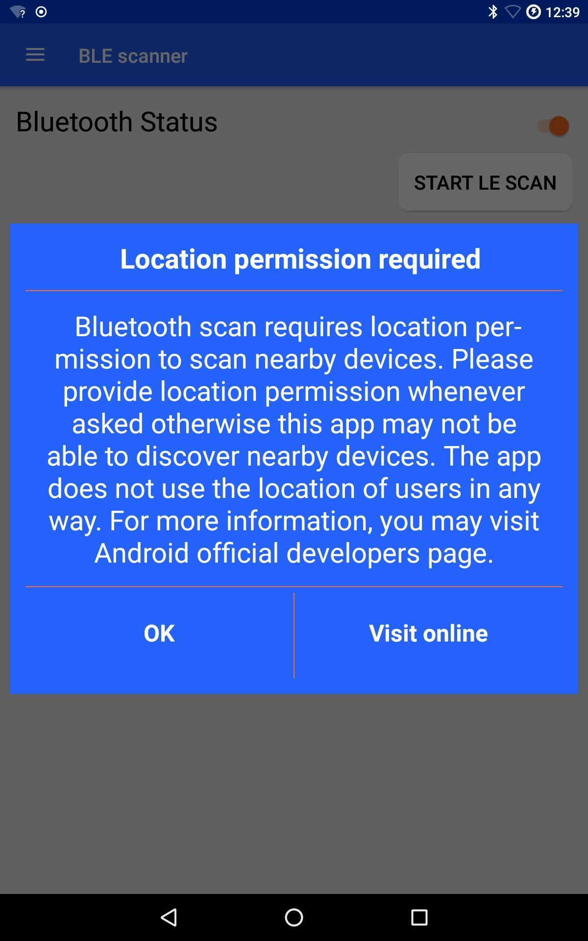 BLE Scanner - ibeacon Bluetooth auto connect for Android