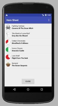 Demo Hero sheet screenshot 5
