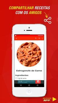 Receitas de Estrogonofe screenshot 3