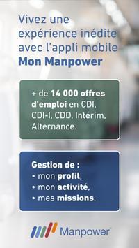 Mon Manpower – Offres d'emploi poster
