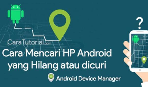 Cara Mencari HP Hilang poster