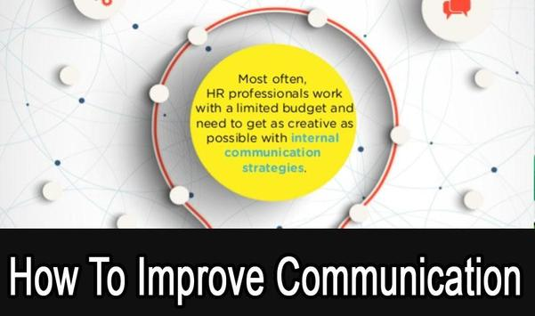 How To improve Communications poster