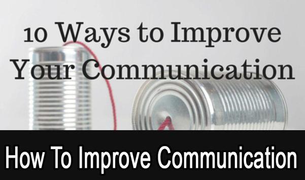 How To improve Communications screenshot 1