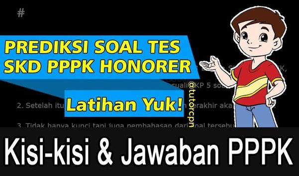 Kisi-Kisi soal tes PPPK & Jawaban 2019 poster