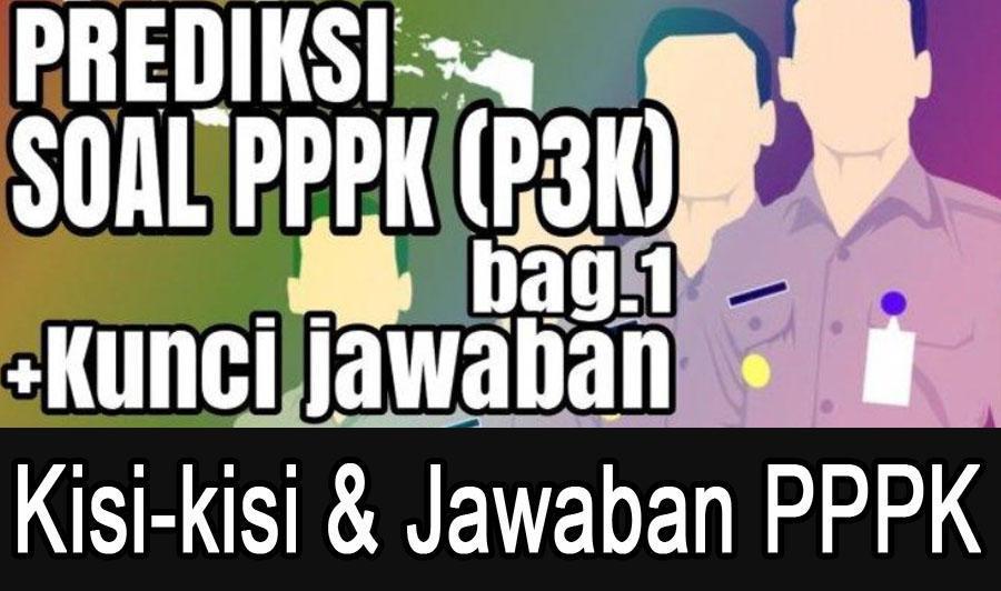 Kisi Kisi Soal Tes Pppk Jawaban 2019 For Android Apk Download