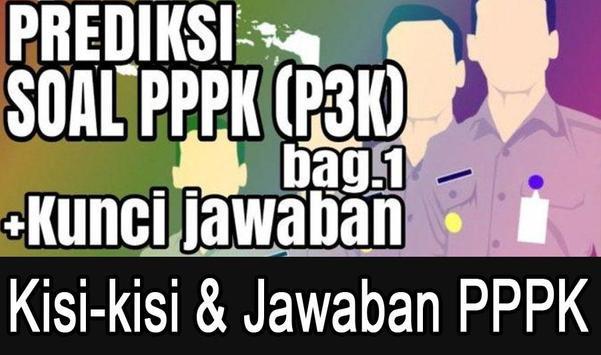 Kisi-Kisi soal tes PPPK & Jawaban 2019 screenshot 1