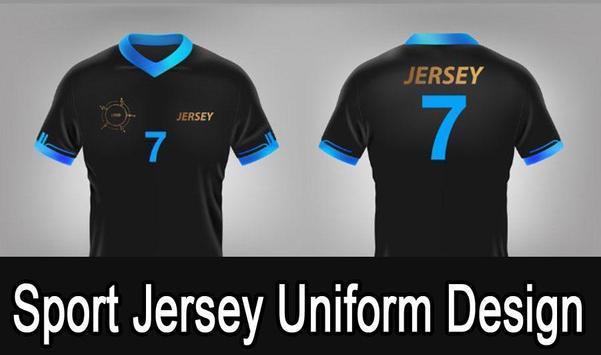 Sport Jersey Uniform Design poster