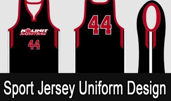 Sport Jersey Uniform Design screenshot 1