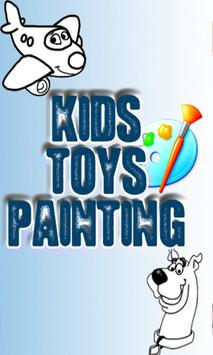 Kids Toys Painting poster