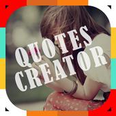 Quotes Creator On Photo icon