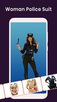 Women Police Suit : Photo Editor poster