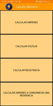 Cálculos Eléctricos Residenciales poster