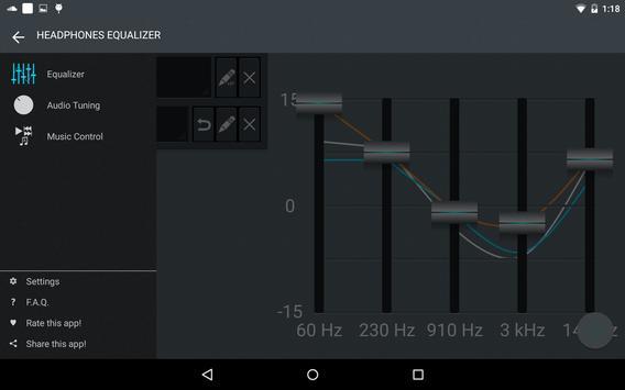 Headphones Equalizer screenshot 15