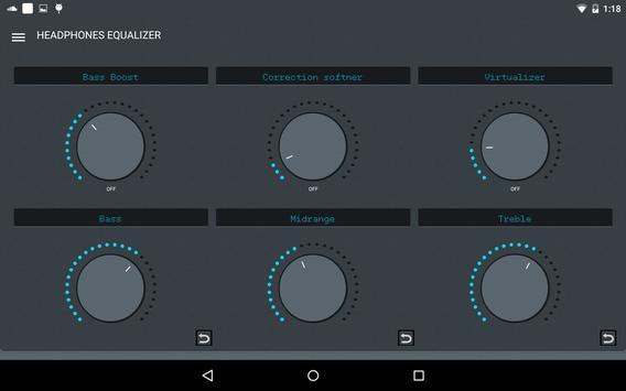 Headphones Equalizer screenshot 16