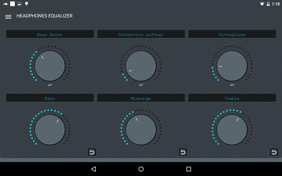 Headphones Equalizer screenshot 11