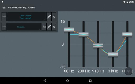 Headphones Equalizer screenshot 8