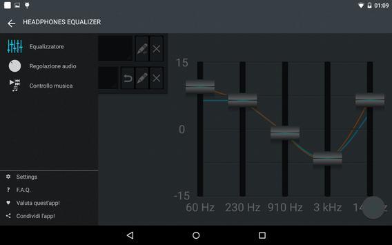 Headphones Equalizer screenshot 9