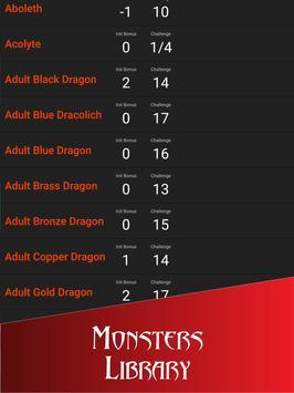 Initiative Tracker for D&D screenshot 12