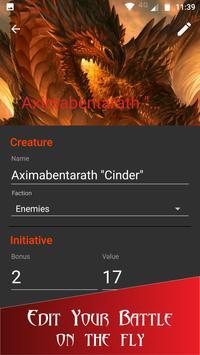 Initiative Tracker for D&D screenshot 1