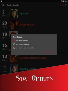 Initiative Tracker for D&D screenshot 21