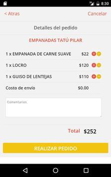Tatú Empanadas screenshot 10