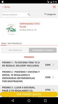 Tatú Empanadas screenshot 1