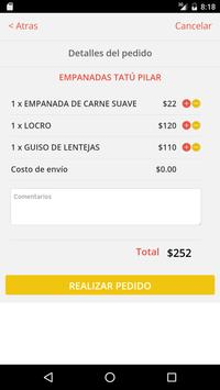 Tatú Empanadas screenshot 2