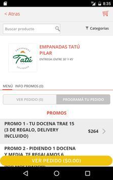 Tatú Empanadas screenshot 5