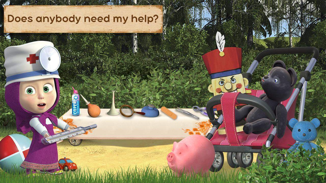 Masha e orso: medico giocattolo for android apk download