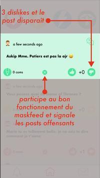 MaskUp - Ton lycée sans filtre screenshot 1