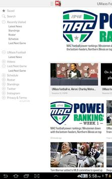 MassLive.com: UMass Football screenshot 7