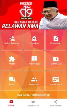 Relawan Master C19 poster