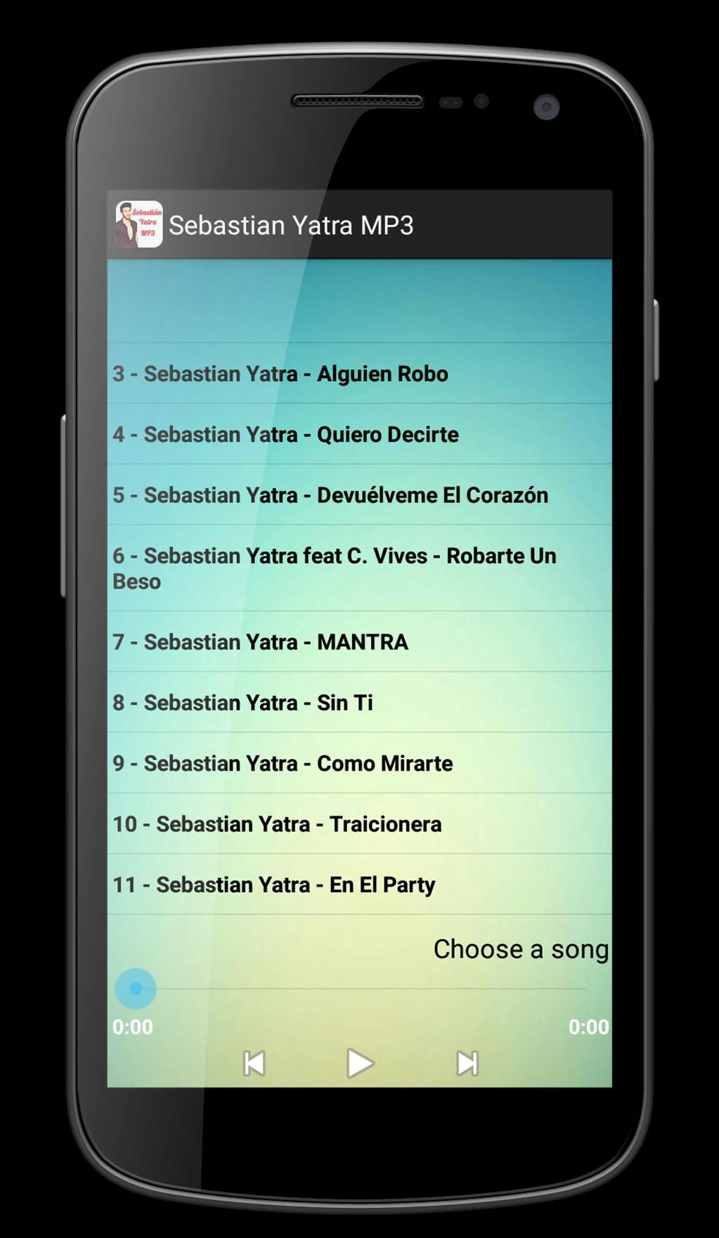 Sebastian Yatra MP3 for Android - APK Download