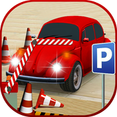 offroad driving Car Parking 2019 icon