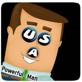 USA Powerful Man icon