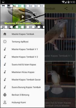 Masteran Kicau Kapas Tembak screenshot 3