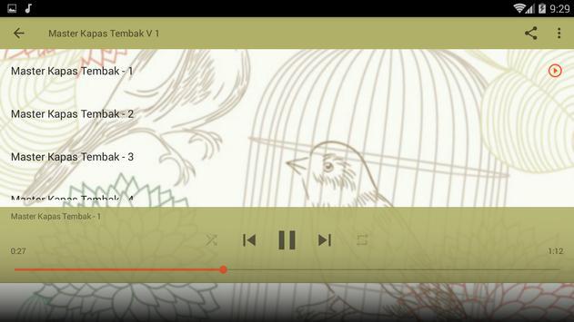 Masteran Kicau Kapas Tembak screenshot 7
